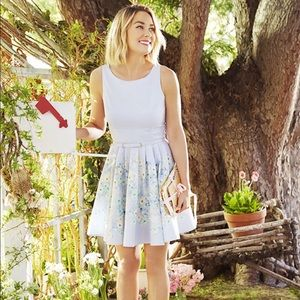 Spring party Floral dress
